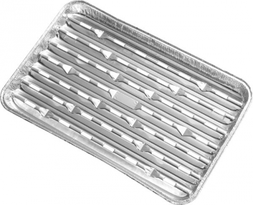 Tava gratar aluminiu 5 bucati 33x25 cm